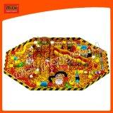 Campo de jogos internos da associação da esfera de Mich grande milhão com corrediça da fibra de vidro