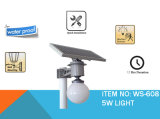 Lumière solaire complète de bille avec le panneau solaire de 5W LED&10W