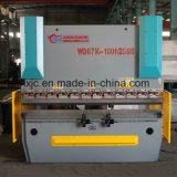 Wd67k 200t/3200mm Kohlenstoffstahl elektrohydraulische CNC-Presse-Bremse