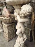 European Sandstone Flowerpot Sculpture Our Companyは私用2によってカスタマイズすることができる彫刻の彫刻のさまざまな種類を作ることを専門にする