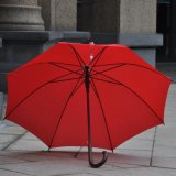 Зонтик конструкции способа автоматический прямой с деревянной ручкой