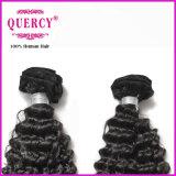 100% tessiture peruviane pure dei capelli umani di Remy del Virgin di Remy