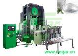 Qualitätsaluminiumfolie-Behälter, der Maschine Ungar gute Berufsüberseeinstallation Kundendienst-Diplomhersteller bildet