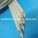 Luvas revestidas da fibra de vidro da borracha de silicone do certificado do UL para o chicote de fios do fio
