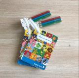 Tarjeta modificada para requisitos particulares del papel de dibujo para jugar de los niños