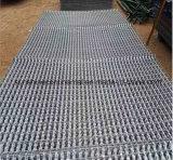 Reja galvanizada sumergida caliente de la plataforma de la calzada de la barra de acero del suelo