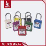 Bd-G72 38mm gelbes dünnes Fessel-Sicherheits-Vorhängeschloß