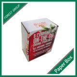 Usine de caisse d'emballage de lait de cocos de papier ondulé de qualité