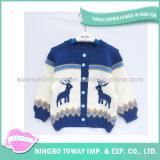 Camisola Feita Malha Costume de Lãs do Bebê das Crianças do Crochet da Forma