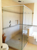 6mm ausgeglichenes Glas-Dusche-Tür-Gelenk-Scharnier-Ecke