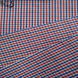 Färbte Baumwollpopelin-gesponnenes Garn 100% Gewebe für Hemden/Kleid Rls60-12po