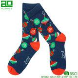 Самые новые носки таможни экипажа оптовой продажи рождества