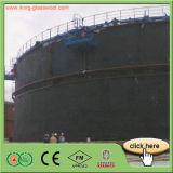 Cortina schiumogena di gomma dell'isolamento termico dei materiali da costruzione della parete esterna