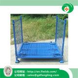 Contenitore pieghevole personalizzato della rete metallica per il magazzino