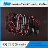 harness de cable de la barra ligera de los conectores del harness de cableado de la luz del trabajo 72W 2