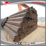 tubos de acero negros soldados ERW de carbón Q235 de 3m m