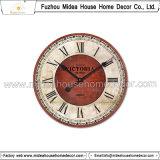 시계 둥근 나무 벽 장식