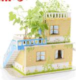 Puzzle dolce di piantatura famoso del puzzle della casa 3D