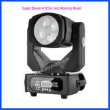 Súper Beam4PCS * 25W LED de luz principal móvil