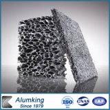 Espuma material del aluminio de la pared de cortina del revestimiento de la pared de la decoración