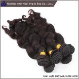 Afrouxar o cabelo humano brasileiro da extensão do cabelo humano da onda