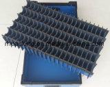 La scheda di plastica di Corrugared trasforma la separazione o la protezione in casella