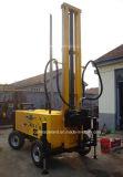 De Installatie van de Boring van de Put van het Water van het Type DTH van Wiel van de aanhangwagen (qz-150T)