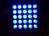 LEIDENE 25X12W RGBW Bewegende HoofdMatrijs