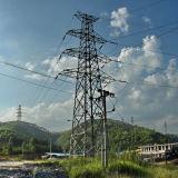 전기와 전송 110kv 힘 강철 탑