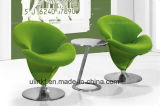 Tamboretes elegantes da cadeira da barra do lazer da tela do projeto da flor (UL-LS519)