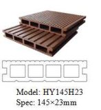 Hot Sale Environmental Garden Outdoor WPC Decking (145 * 23mm)