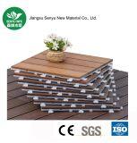 Aucun plancher en plastique en bois du composé DIY de maintenance