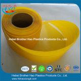 200mm Breiten-haltbarer gelber gewellter lichtdurchlässiger Tür-Vorhang