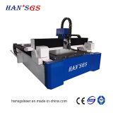 Вырезывание листа с оборудованием вырезывания лазера волокна 1500W от Hans GS