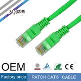 Steckschnür-Kabel des Sipu Fabrik-Preis-CAT6 für Ethernet