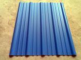 Feuille ondulée utilisée de toit de PVC de plastique