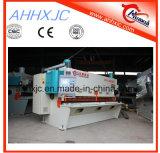 Da guilhotina hidráulica do metal de QC11k 6*6000 Nc máquina de corte com E21s