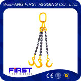 Сваренная сталь 3 ноги поднимая грузоподъемную цепь