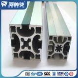 Perfil de Aluminio Industrial Plata Anodizado para Línea de Producción Automatica