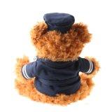 Projeto novo urso enchido da peluche do luxuoso com chapéu