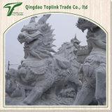 중국에서 중국 싼 화강암 조각품 또는 동상 또는 Carvings