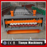 台形屋根の機械C20を形作る鋼鉄タイルシートのプロフィールロール