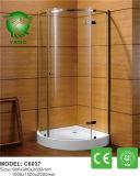 Cerco deslizante de venda superior do chuveiro do estilo de Alemanha do banheiro do rolo grande