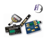 Interruptor de membrana do teclado da folha de prova do circuito do teclado de Contral