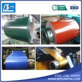 A cor Prim da qualidade Z180 Z275 PPGI revestiu a fábrica de aço da bobina