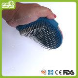 De Kam van het Huisdier van het rubber en van het Roestvrij staal (hn-PG309)