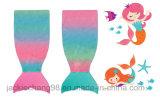 Cobertor pequeno impresso Multi-Colour da sereia