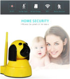 Cámara del Wdm de la seguridad mini WiFi del hogar/del asunto del IP elegante casero