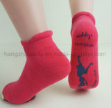 Antibiotische reine Farben-Gleitschutzklage für Baby-Socke