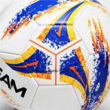 Kundenspezifischer Belüftung-amtlicher Größen-Leder-Straßen-Fußball